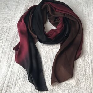 Silk Tricolor Scarf
